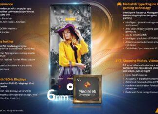 Mediatek unveils 6nm Dimensity 920 and Dimensity 810 chipsets